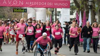 Octava Caminata Avon contra el cáncer de mama