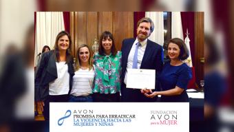 El Protocolo y Licencia por Violencia de Género de AVON y Fundación AVON fue declarado de Interés Social por la Legislatura de la Ciudad de Buenos Aires