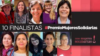 Te presentamos a las finalistas del #PremioMujeresSolidarias 2018