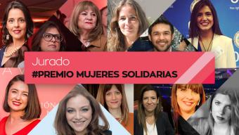 El Jurado del Premio Mujeres Solidarias 2019 ¡ya eligió a las ganadoras!