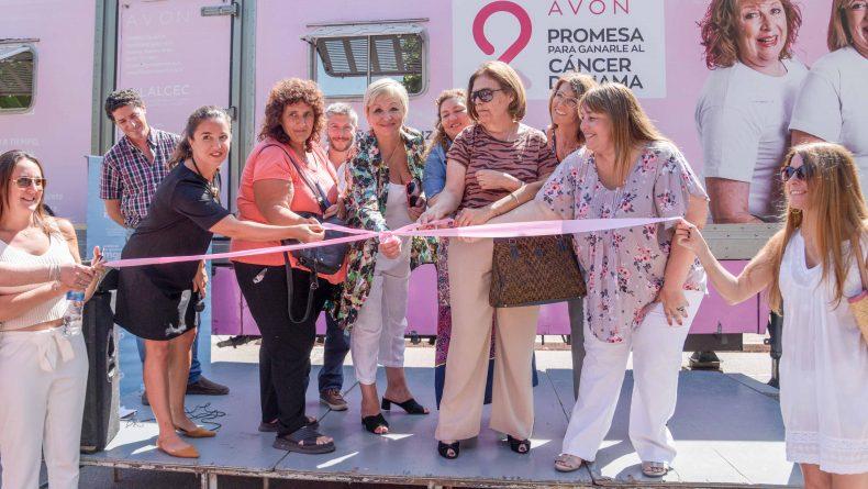 ¡Inauguramos un nuevo recorrido de nuestro mamógrafo móvil!