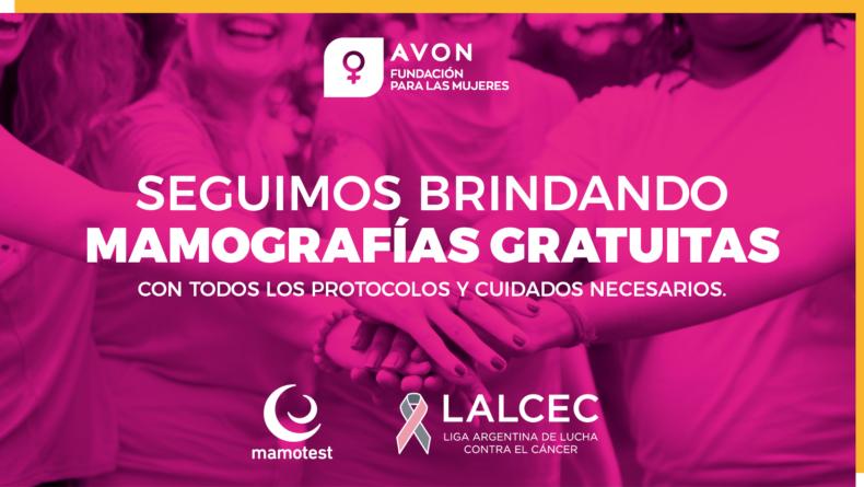 Nueva campaña: cuidados toda la vida. Nos unimos con Mamotest para brindar mamografías gratuitas.